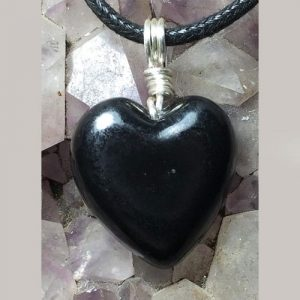 shungite-heart-necklace-pendant-dog-mom-gifts