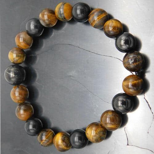 dog-dad-gifts-shungite-tigers-eye-bracelet