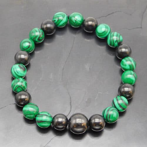 shungite-and-malachite-bracelet
