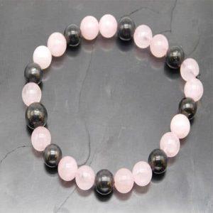 shungite-and-rose-quartz-bracelet
