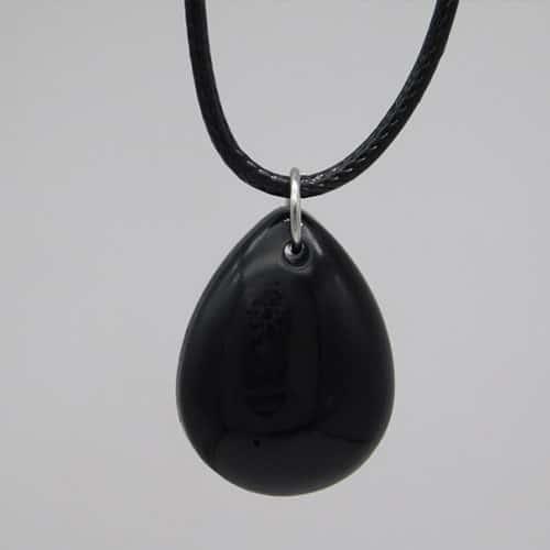 shungite-teardrop-necklace-pendant-pet-parent-gifts