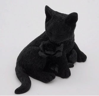 Shungite S4 Resin Cat Totem